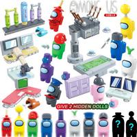 8 Pcs Set 10 Dolls Among Us Game Model Building Blocks Mini-figures Toys Kid