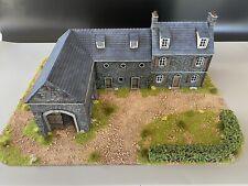 28mm, Painted Terrain, WW2, European Barn, Bolt Action,Black Powder (Farm-1)