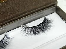 Short Inside Long Outside 100% real siberian mink strip eyelashes 3D mink lashes