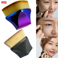 High-Density Seamless Foundation Brush BB Cream Slim Nylon Makeup Brush Portable