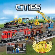 Lego ☆ Comp.100% Cieties ☆ 1033pz ►TRENO TRASPORTO MERCI R/C◄ ► NEW◄ NUOVISSIMO