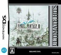 USED Nintendo DS Ultimate Hits Final Fantasy III
