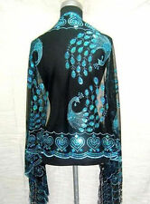 Chinese Lady Women Beaded Sequin Shawl/Scarf Wraps Peacock&Flower Hot Sale