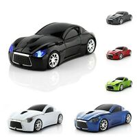 Wireless Car Mouse 2.4Ghz USB Optical Computer Mice 3D Mause Gamer For PC Laptop