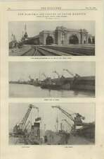 1920 Dover Harbour New Electric Jib Cranes