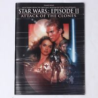 Star Wars: Episode II Attack of the Clones Piano Solo Selections from Soundtrack