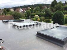 Manual Opening Flat Roof Window Skylight Roof-light Triple Glazed 800mm x 1500mm