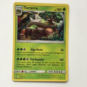 Torterra 9/156 Rare Holo - SM Ultra Prism 2018 Pokémon Pokemon Card NM Near Mint