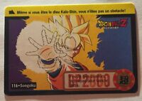Ref203 Carte Dragon Ball Z Carddass Bandai 1995 Total N 762 116 Songoku