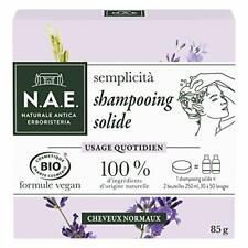 N.A.E. Shampooing Solide  Bio Usage Quotidien Cheveux Normaux 85g Zero Dechet