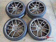 "19"" Niche Targa M129 Anthracite Wheels w/ Tires fits Nissan 350 370 Infiniti G35"