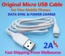 Original Micro USB Data Charger Adapter Cable For Vivo Y53 X9s /Plus V5s Y25 AU