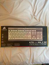 Corsair K70 RGB MK.2 SE Rapid Fire Silver/White Keyboard