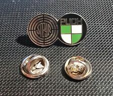 Steyr Puch Pin emailliert - Maße Logo 27x15mm Haflinger Pinzgauer