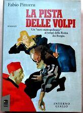 FABIO PITTORRU: La pista delle volpi, Interno Giallo 1992, cover Ferenc Pinter
