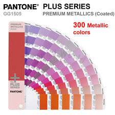 Pantone Plus Series GG1505 PREMIUM METALLICS (Coated) 300 Colors