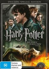 HARRY POTTER and The DEATHLY HALLOWS : Complete Part 1 & 2 : NEW DVD