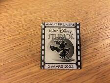 WALT DISNEY STUDIOS PARIS AVANT PREMIERE PIN 2 MARS 2002 PREVIEW DAY MARCH 2