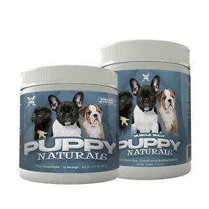 PUPPY NATURALS BY MUSCLE BULLY 2 PACK STACK (120 SERVINGS)
