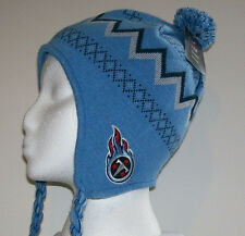 04678620 NFL Tennessee Titans Youth Kids Knit Hat Sherpa 1 size (8-20) Unisex