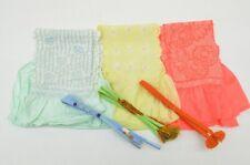 =Japanese Kimono vintage Accessory Obiage Obijime 3sets Silk Shibori 7nfuji29140