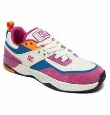 Tg 42 - Scarpe Uomo Skate DC Shoes E.Tribeka LE Violet Fire Sneakers Schuhe 2019