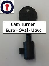 Locksmith tool Cam turner, Euro, Oval and Upvc Gearbox 1st P&P