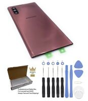 Samsung Galaxy Note 10 Plus Aura Pink Back Glass Battery Cover Replacement+Tools