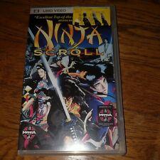Ninja Scroll UMD For PSP Game Only 9E