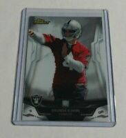 R11,340 - DEREK CARR - 2014 TOPPS FINEST - ROOKIE CARD - #122 - RAIDERS -