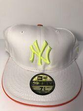 New Era Cap NBA New York Yankees size 7 3/8 - VINTAGE, VERY RARE & UNIQUE, NEW