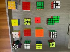 Rubik's Cubes - Lot of 16 Assorted Puzzles (MAGNETIC 7x7, 4x4s, MEGAMINX + MORE)