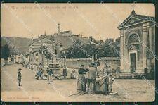 Verona Colognola ai Colli PIEGHINE STRAPPINO cartolina QK7501