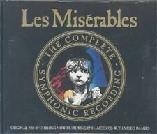 Les Miserables Complete Symphonic Recordings by Various CD 766927338724