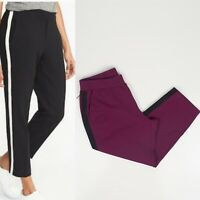 Old Navy Active Womens Sporty Harper Midrise Ankle Pant NWT Large Winter Wine