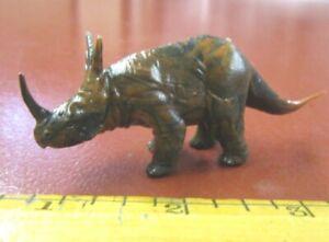 Marx mold dinosaur Styracosaurus from Superior heavily brown marbled