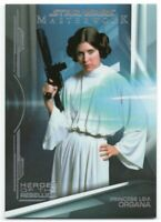 2019 Star Wars Masterwork Heroes of the Rebellion Foil HR-3 Princess Leia /299