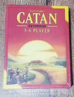 Catan 5-6 Player EXTENSION 5th Edition Game Studio CN3072 Base Core NEW