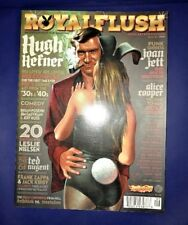 Royal Flush Magazine Book 6 2009 Hugh Hefner Joan Jett Comedy Pop Culture
