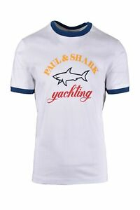 Paul & Shark Paul And Shark Colour Yachting Logo T-shirt White