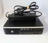 HP 8200 Elite USFF i5-2400 2.5GHz 4GB RAM 500GB HDD Windows 7 Pro