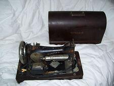Vintage Antique 1924 Singer Sewing Machine W/ Case Serial 2332805