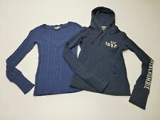 Abercrombie Hooded Shirt & Aeropostale Sweater Size XS Good Condition