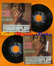 LP 45 7''POWERPLAY Higher and higher Hey sexy baby 1978 italy DURIUM cd mc dvd*