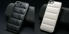 iPhone 5 5S Luxury Range Snake Skin Leather Effect Mobile Phone Covers 2 PACK