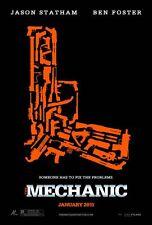MECHANIC Movie Poster - Gun Medium Size 11x17 Print ~ Jason Statham Ben Foster