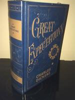 CHARLES DICKENS GREAT EXPECTATIONS -  LEATHERBOUND HARDBACK BOOK