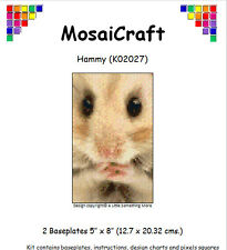 MosaiCraft Pixel Craft Mosaic Art Kit 'Hammy' Hamster Pixelhobby
