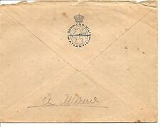Italy Royal Navy Italian Submarine Services  By Hand Cover  Circa Late 1930s