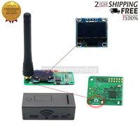 UHF/VHF Antenna OLED MMDVM hotspot +Al Case Support P25 DMR YSF for Raspberry pi